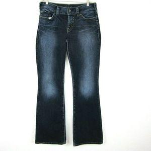 Silver Jeans Suki 29 x32 Dark Wash Boot Cut EUC